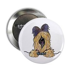 "Pocket Briard 2.25"" Button"