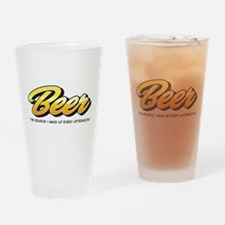 Afternoon Beer Drinking Glass
