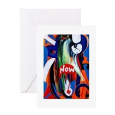 The power of Now Greeting Card