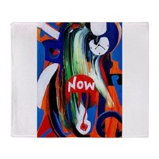 The power of Now Throw Blanket