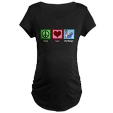 Peace Love Psychology T-Shirt