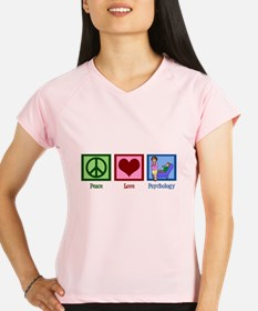 Peace Love Psychology Performance Dry T-Shirt