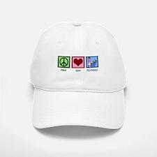Peace Love Psychology Baseball Baseball Cap