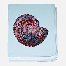 Ammonite.png baby blanket