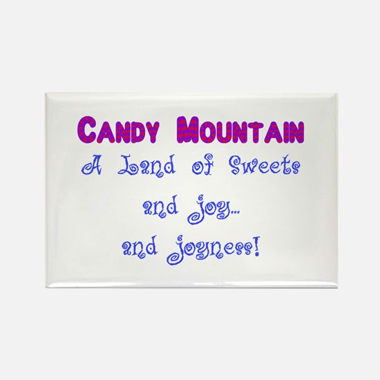 Candy Mountain for white.png Rectangle Magnet