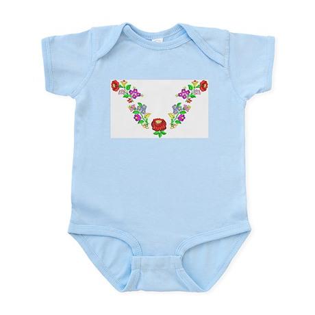 Hungarian folk motif Infant Bodysuit