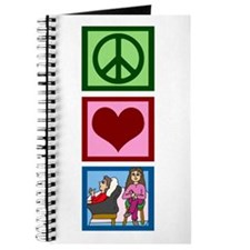 Peace Love Therapy Journal