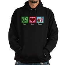 Peace Love Therapy Hoody