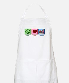 Peace Love Therapy Apron