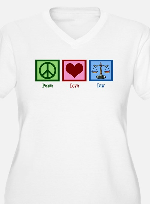 Peace Love Law T-Shirt