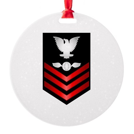 Navy Aviation Electrician's Mate First Class Round