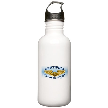 Pilot Wings (gold/blue) Stainless Water Bottle 1.0