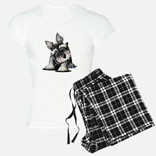 KiniArt Schnauzer Pajamas