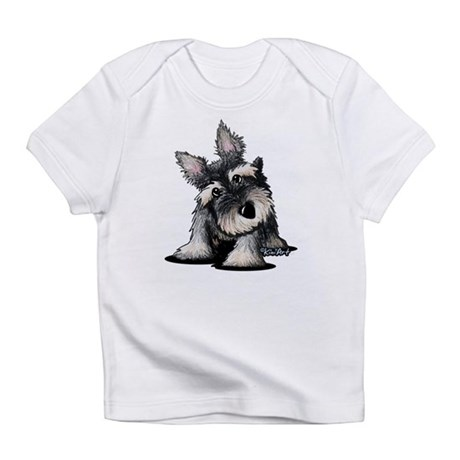 KiniArt Schnauzer Infant T-Shirt