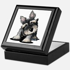 KiniArt Schnauzer Keepsake Box