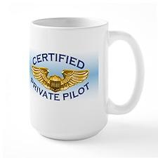 Pilot Wings (gold/blue) Mug