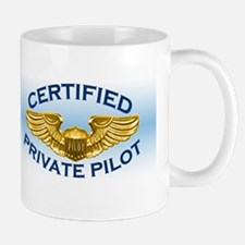 Pilot Wings (gold/blue) Mug