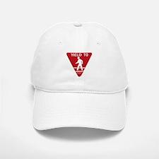 Yield To D.O.T. Baseball Baseball Cap