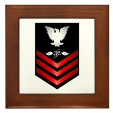 Navy Aviation Electronics Tech First Class Framed