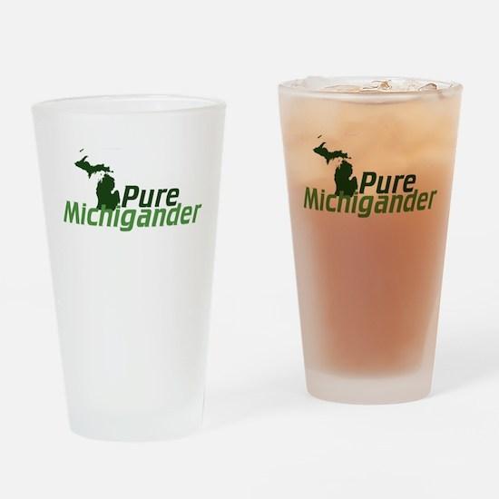 Michigan Drinking Glass