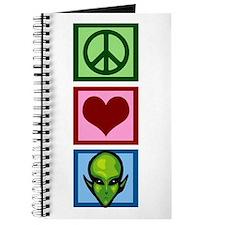 Peace Love Aliens Journal