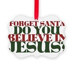 Jesus is LORD always Christmas Picture Ornament