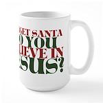 Jesus is LORD always Christmas Large Mug