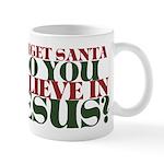 Jesus is LORD always Christmas Mug