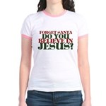 Jesus is LORD always Christmas Jr. Ringer T-Shirt