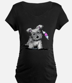 KiniArt Schnauzer Heart T-Shirt