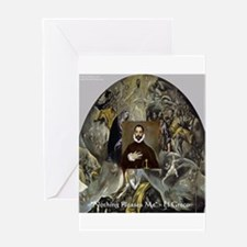 El Greco Greeting Card