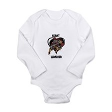 Heart Warrior Youths Body Suit