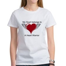 I love Heart  Warriors T-Shirt