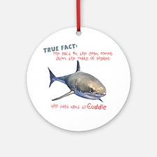 Shark Tears Ornament (Round)
