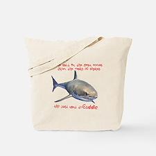 The Tears of a Shark (Non-Redundant) Tote Bag
