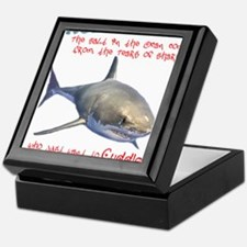 The Tears of a Shark (Non-Redundant) Keepsake Box