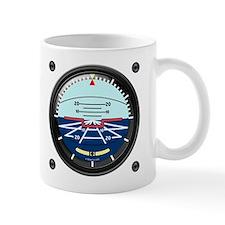 Artificial Horizon (white) Mug
