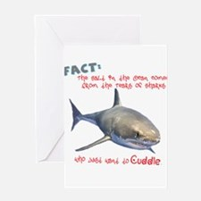 Tears of Sharks (non-Redundant) Greeting Card
