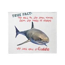 Shark Tears Throw Blanket