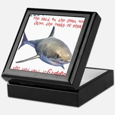 Shark Tears Keepsake Box
