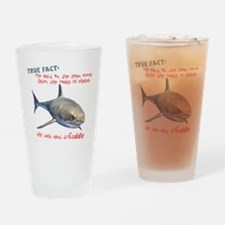 Shark Tears Drinking Glass