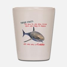 Shark Tears Shot Glass