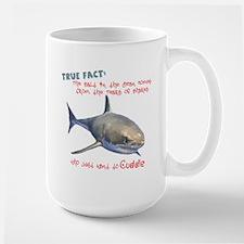 Shark Tears Large Mug