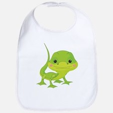Cute Baby Lizard Bib