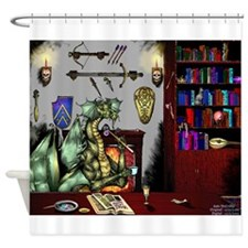 Dragons Den (Winchester Draconis) Shower Curtain