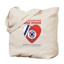 USCG Moms Division Tote Bag
