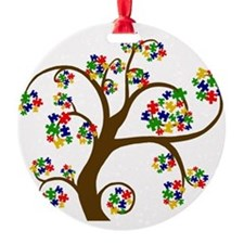 Puzzled Tree of Life Ornament