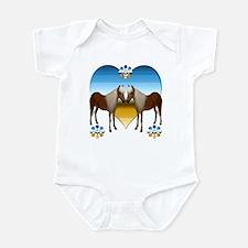 Pony Kiss Infant Bodysuit