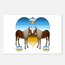 Pony Kiss Postcards (Package of 8)
