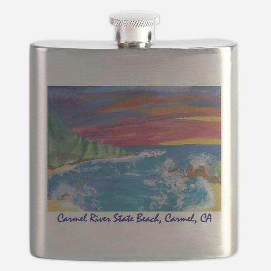 Carmel State Beach, Carmel CA 700.jpg Flask